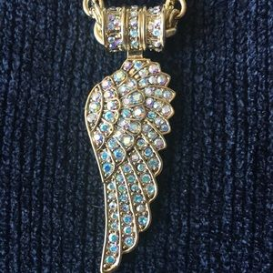 Kirks Folly Angel Wing Magnetic Enhancer Necklace